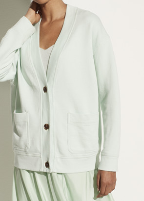 Vince Oversized French Terry Cardigan