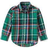 Ralph Lauren Little Boys 2T-7 Plaid Twill Shirt