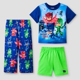 PJ Masks Toddler Boys' PJ Masks 3pc Pajama Set - Blue
