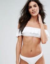 Pull&Bear Bandeau Bikini Top