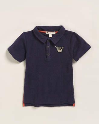 Appaman Boys 4-7) Terrycloth Shaka Short Sleeve Polo