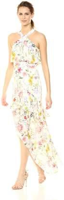 Parker Women's Fillipa Sleeveless Full Length Silk Dress