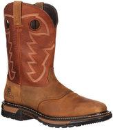 "Rocky Men's 11"" Western Saddle Original Ride Sq. Toe RKYW039"