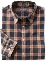 L.L. Bean L.L.Bean Signature Washed Poplin Shirt, Plaid