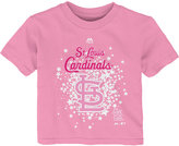 Majestic Toddler Girls' St. Louis Cardinals Pouring Stars T-Shirt