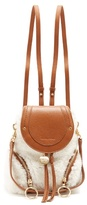 See by Chloe Olga small shearling backpack
