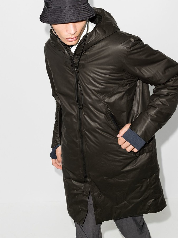Thumbnail for your product : Veilance Hooded Nylon Parka Coat