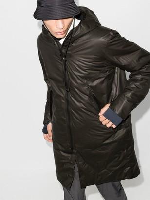 Veilance Hooded Nylon Parka Coat
