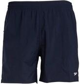 Speedo Mens Solid Leisure 16 Inch Water Shorts Navy