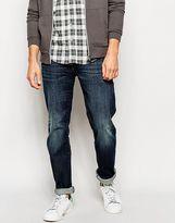 Esprit Dark Wash Jeans In Slim Fit - Blue
