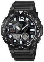 Casio Men's Ana-Digi Dive Style Watch, Black - AEQ100W-1AVCF