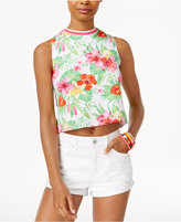 The Edit By Seventeen's Printed Crop Tank Top, Only at Macy's