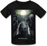 CVB YC Big Boys' The Walking Dead Tour.png T Shirt For Kids Black M