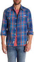 Lucky Brand Long Sleeve Guaranteed Fit Western Shirt
