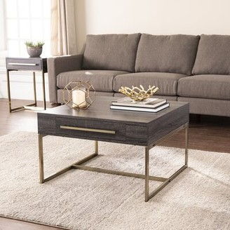 Everly Quinn Akmonton Coffee Table with Storage