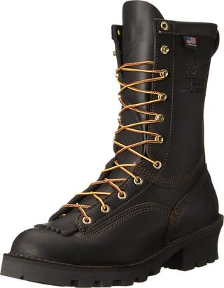 Danner Men's Flashpoint II Black Leather Work Boots 18102 - 6 D(M) US
