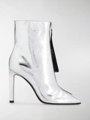Jimmy Choo Metallic Heeled Boots