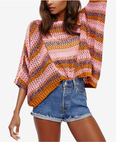 Free People Pearl Searching Open-Knit Sweater