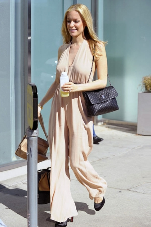 Boulee Toby Jumpsuit in Nude