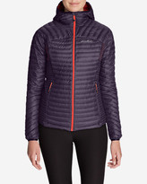Eddie Bauer Women's MicroTherm StormDown Hooded Jacket