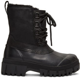 Rag & Bone Black Winter Boots