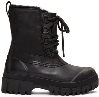 Rag & Bone Black Winter Boots