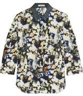 Nina Ricci Printed Silk-Satin Shirt