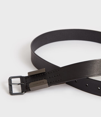 AllSaints Verge Leather Belt