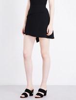 Sandro A-line woven skirt