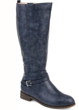 Journee Collection Women's Comfort Wide Calf Ivie Boot Women's Shoes