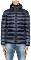 Hogan Blue Quilted Hood Down Jacket