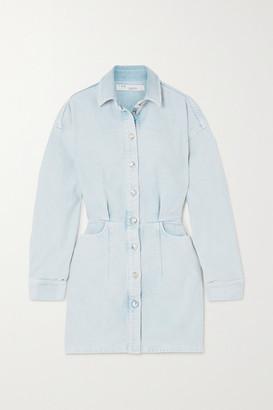 IRO Raffa Denim Mini Shirt Dress - Mid denim