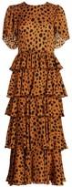 Rhode Resort Serena Cheetah Print Dress