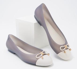 Melissa Cap-Toe Flats - Doll V Ad