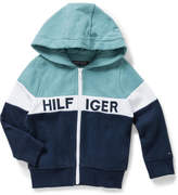 Tommy Hilfiger Colorblock Zip L/S Sweatshirt (Boys 3-7 Years)