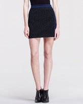 Opening Ceremony Crave Mix-Fabric Skirt