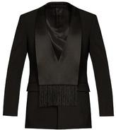 Givenchy Scarf-lapel Wool Tuxedo Jacket