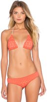 Nightcap Clothing Spiral Lace Bikini Top