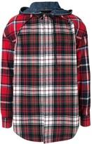Juun.J Check Print Shirt