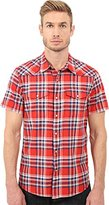 Lucky Brand Men's Short-Sleeve One Pocket Flap Shirt