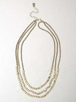 White Stuff Pop bead necklace