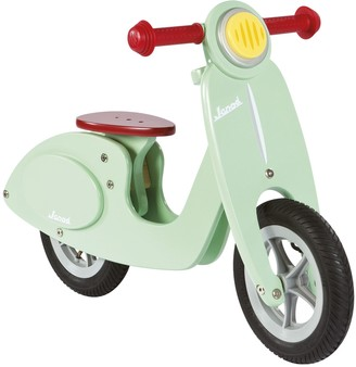 Janod Wooden Scooter Balance Bike, Mint