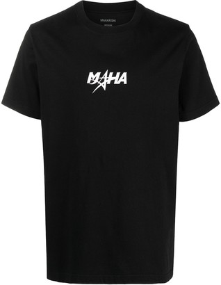 MHI logo-print short-sleeved T-shirt