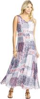 Motherhood Jessica Simpson Empire Waist Maternity Maxi Dress