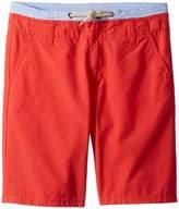 Janie and Jack Double Waistband Flat Front Shorts Boy's Shorts