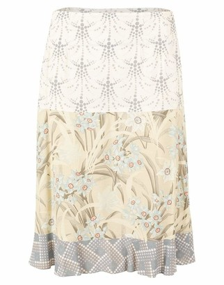 Chloé Floral Print Knee-Length Skirt
