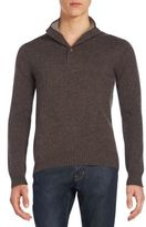 Saks Fifth Avenue Mockneck Cashmere Sweater