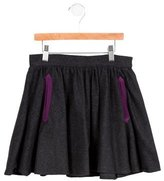 Little Marc Jacobs Girls' Wool Circle Skirt