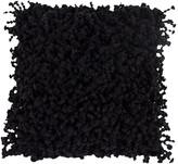 A&B Home 18 x 18 Shaggy Pillow - Black