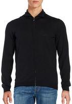 HUGO BOSS Slim Fit Merino Wool Sweater